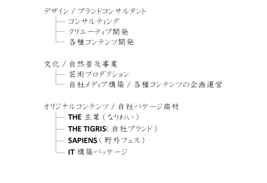 ティグリス事業俯瞰図
